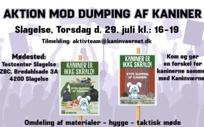 Aktion mod dumping af kaniner