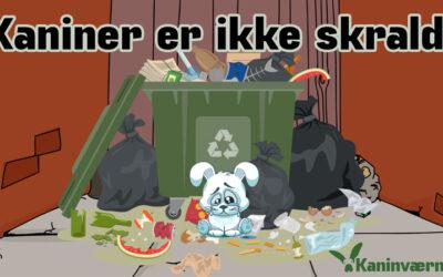 KANINER ER IKKE SKRALD-KAMPAGNE